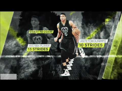 The Science Behind The Greek Freaks Skills  Sport Science  ESPN Archive
