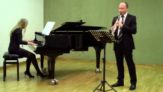 The Flight of the Bumblebee, Clarinet and Piano, Hummelflug