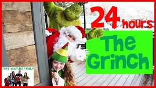24 Hours As The Grinch / That YouTub3 Family I Family Channel