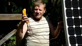 Как работает солнечная батарея и как её проверить! http://nature-energy.ru