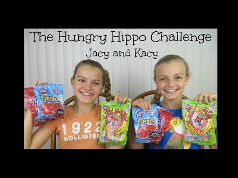 The Hungry Hippo Challenge ~ Jacy and Kacy
