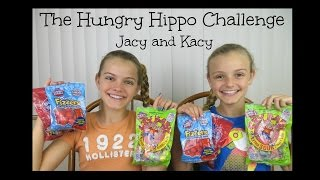 The Hungry Hippo Challenge ~ Jacy and Kacy