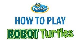 How To Play: Robot Turtles -Featuring Dan Shapiro