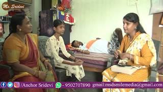 Sridevi Helping for Poor People at Hanmakonda in Warangal Dist   Help-45 #MsSridevi