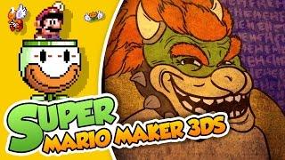 ¡Maldito seas Trollwser! | Super Mario Maker 3DS (FINAL)