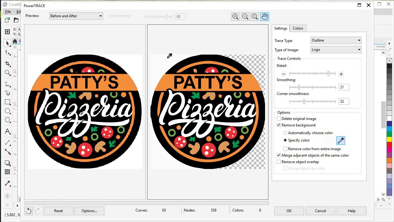 How to Convert JPG to Vector in CorelDRAW