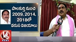Errabelli Dayakar Rao Face To Face, To Take Oath As Telangana Minister | Hyderabad | V6 News