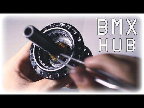 Как разобрать и прокачать заднюю BMX втулку 2 (How To Maintain A BMX Hub)