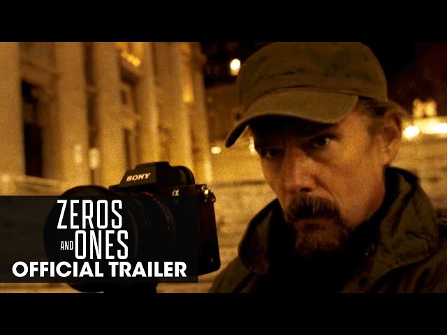 Zeros and Ones (2021 Movie) Official Trailer - Ethan Hawke