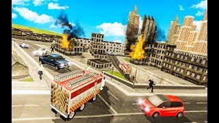 Firefighter City Hero Rescue Duty | Android Gameplay | Droidnation