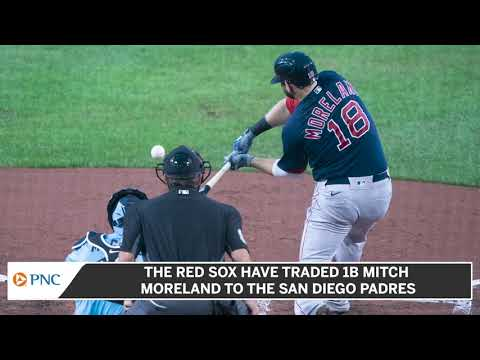 Red Sox Trade Mitch Moreland To San Diego Padres