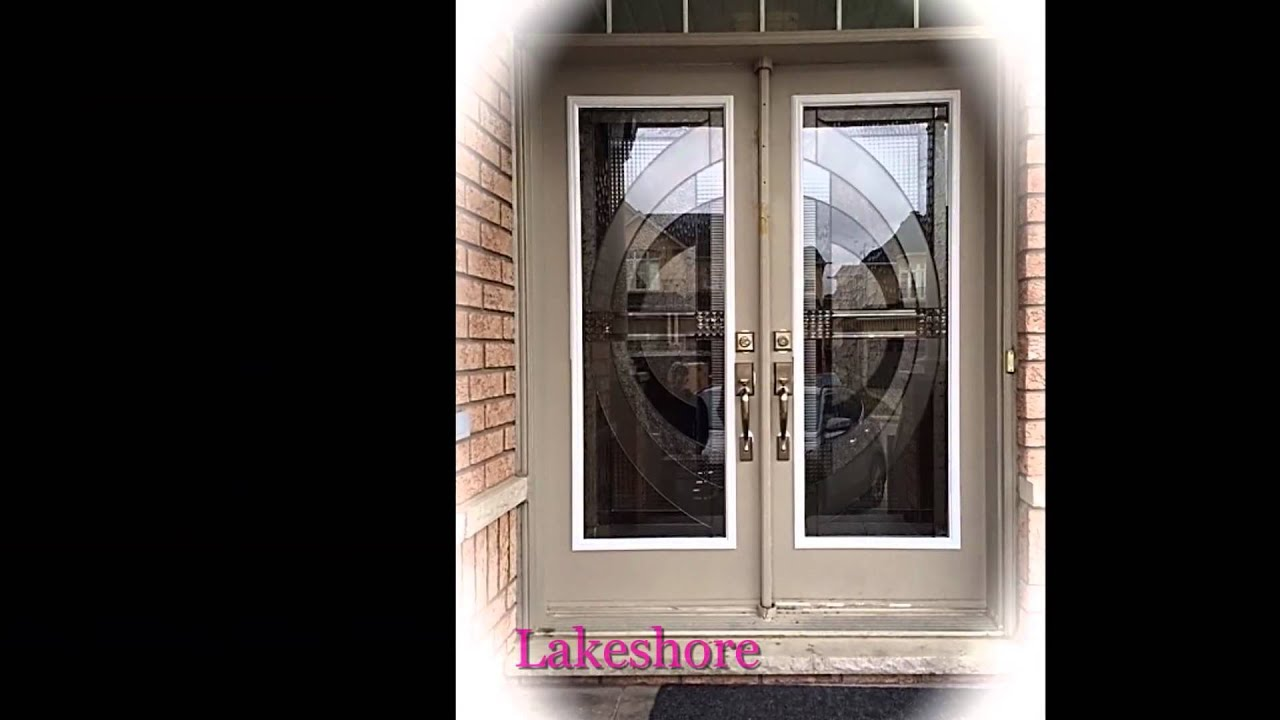 Wrought iron decorative glass door inserts youtube wrought iron decorative glass door inserts planetlyrics Gallery