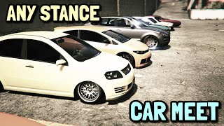 GTA5 Online Any Clean Stance Car Meet LIVE PS4! illest 7 Recruitment | Chill Session|3.2K Subs?!