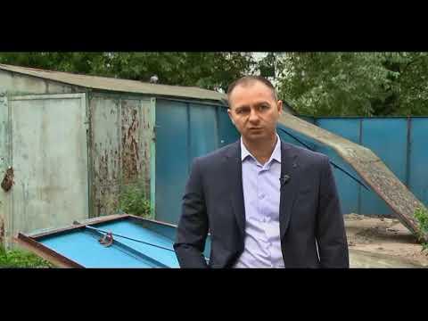 В Заволжском районе Твери демонтируют незаконно установленные объекты