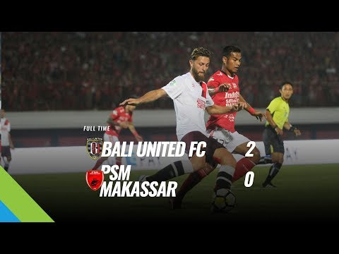 [Pekan 15] Cuplikan Pertandingan Bali United FC vs PSM Makassar, 11 Juli 2018