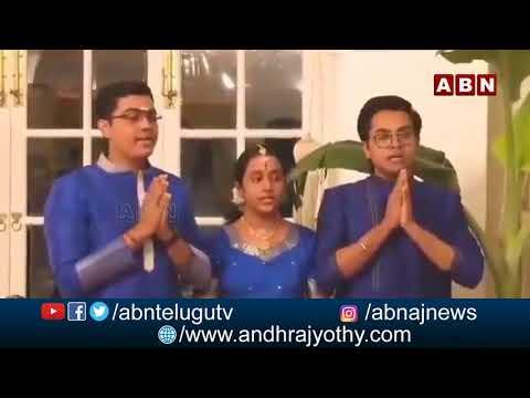 Navaratri Celebrations in Sri Lanka PM  Sri Mahinda Rajapakse Residence | ABN Telugu teluguvoice