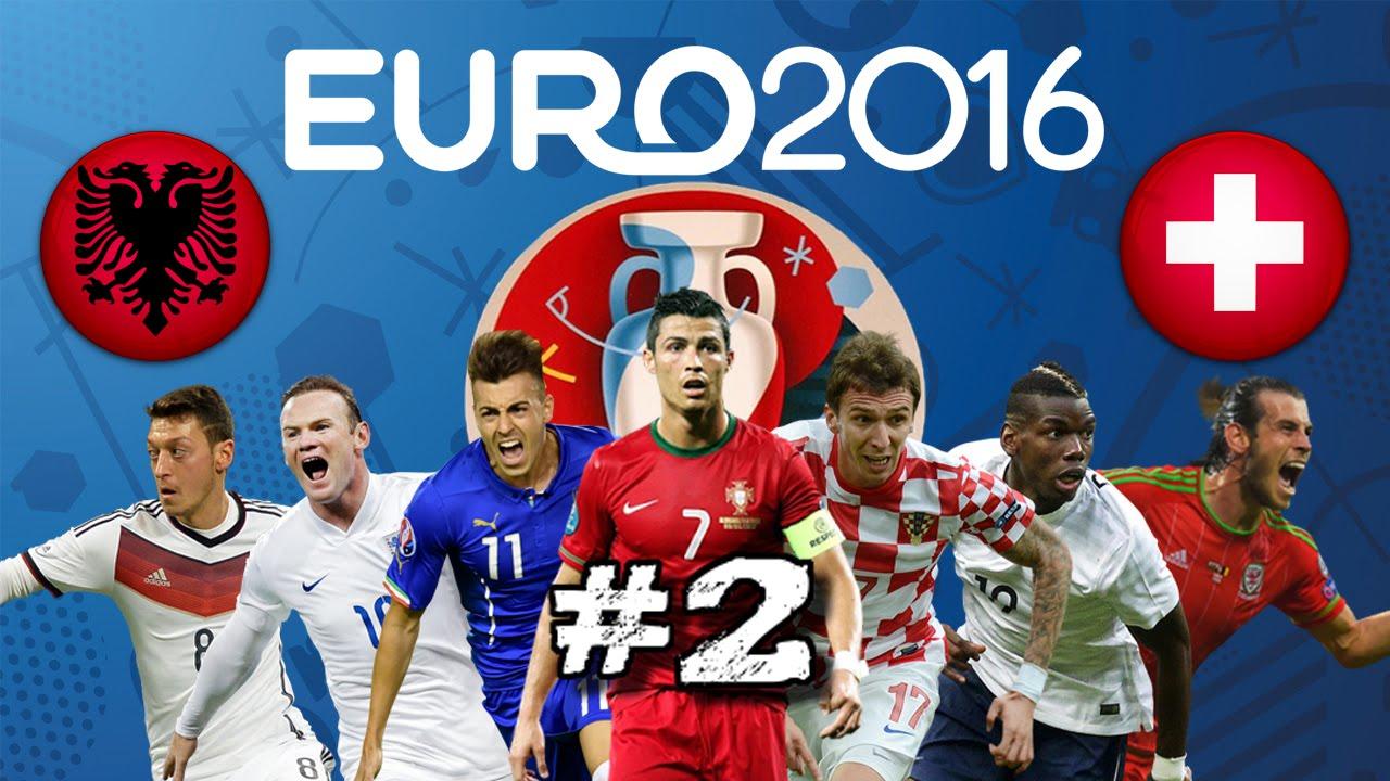Euro 2016 2 Albania Vs Switzerland Fifa 16 Ultimate Team