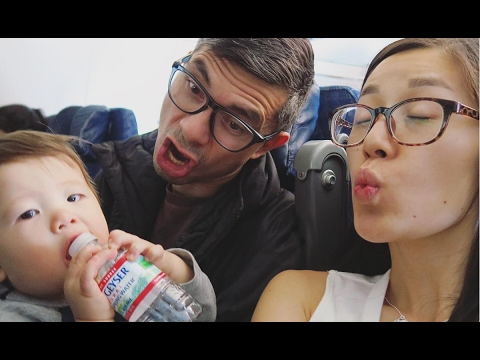 Travel Vlog: 13+ Hours with 11-Month-Old (USA to Brazil)!