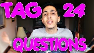 TOONY - TAG 24 Questions !