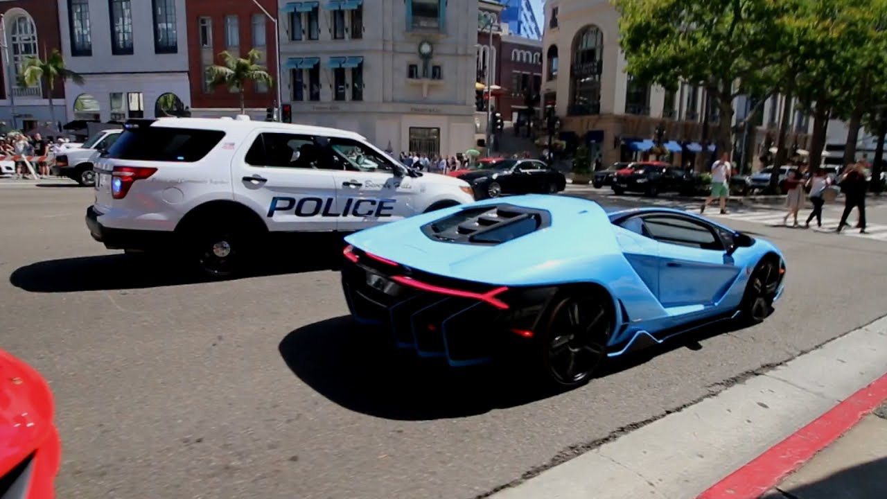 Police Not Happy Loud 2 3m Lamborghini Centenario Youtube