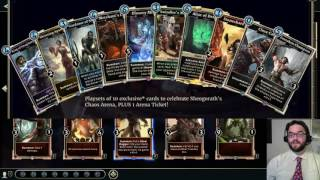 New Elder Scrolls Legends Cards - Chaos Arena First Impressions