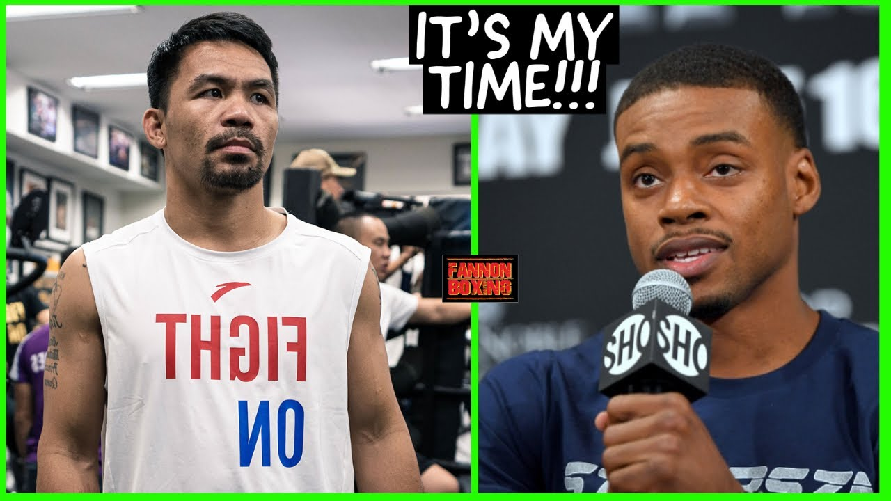 """ERROL SPENCE TELLS MANNY PACQUIAO """"IT'S MY TIME"""", LEAKED SPARRING TAPE MEANINGLESS?"""