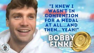 Bobby Finke clueless, had no idea he even had a chance to win