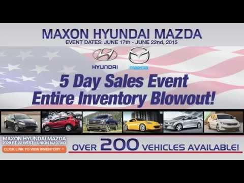 Maxon Hyundai Mazda Sales Event