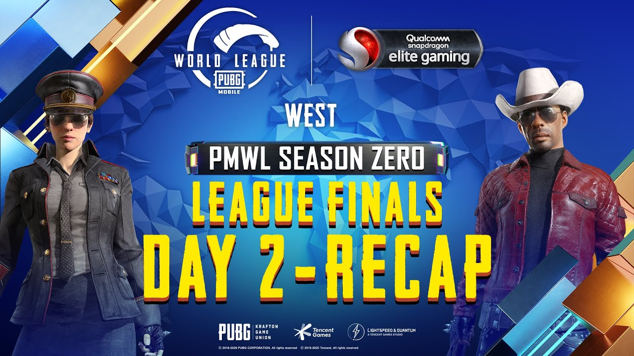 PUBG MOBILE World League West Season ZERO - WEEK 4 DAY 2 Grand Finals Recap