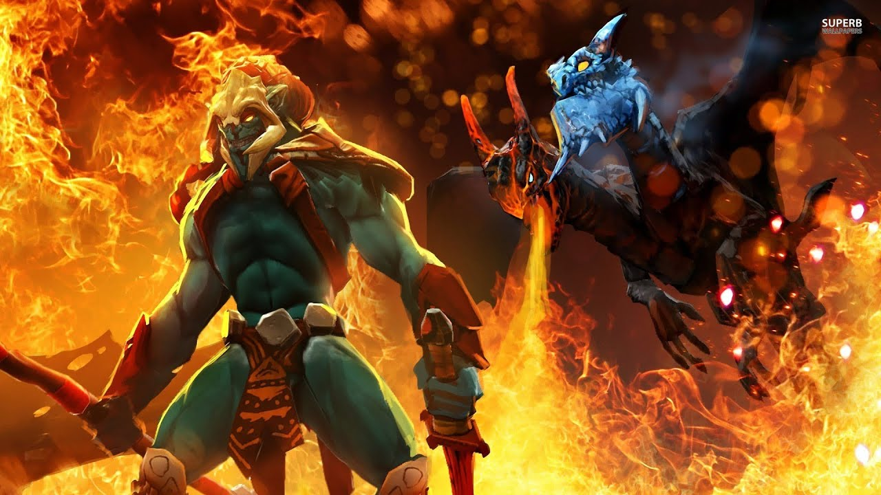 dota 2 huskar ultra kill youtube