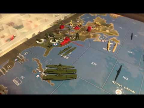 Axis & Allies Global 1940/USA  Strategy- Floating Bridge