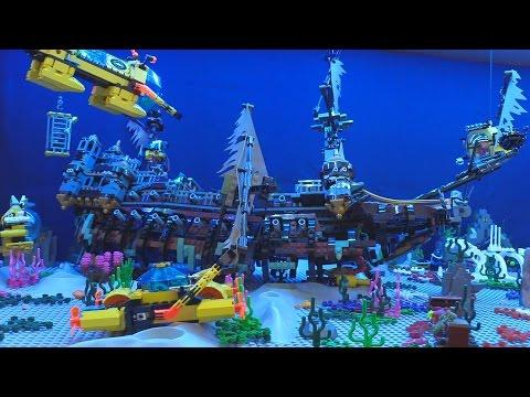 LEGO Shipwreck In My Deep Sea Exploration Display! ⚓🐠