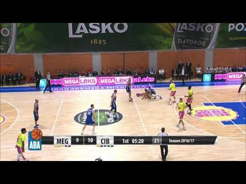 NO WAY! Rade Zagorac blocks Ante Žižić! (Mega Leks - Cibona, 4.12.2016)