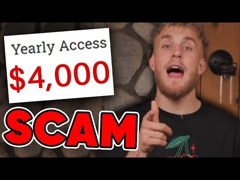 Trying Jake Paul's new scam