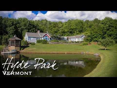 Video of 1385 McKinistry Hill Road | Hyde Park, Vermont real estate & homes
