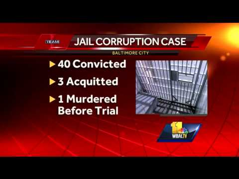 5 convicted in Baltimore jail corruption trial
