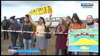 В Астраханской области в пятый раз выбрали лучшего юного пахаря