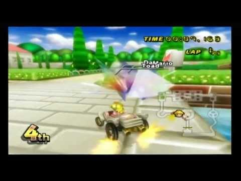 mario kart wii ds peach gardens youtube. Black Bedroom Furniture Sets. Home Design Ideas