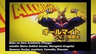 ESTRENOS ANIMES: PRIMAVERA 2016   Animes Spring 2016