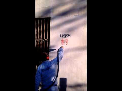 Doctor Wall - Intervento di Rimozione Graffiti a Milano