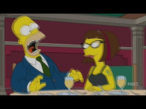 The Simpsons - Homer Falls in Love with the Pharmacy Girl | Part 2