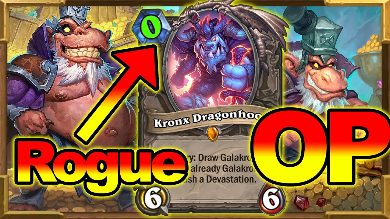 Everything 0 Mana | Rogue Goes Crazy With Full Invoked Galakrond & Togwaggle | Standard Hearthstone