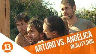 La gran pelea entre Arturo Longton y Angélica Sepúlveda   Reality.doc