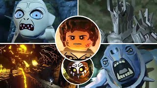 LEGO The Lord of the Rings All Bosses | Final Boss (PS3, X360, Wii)
