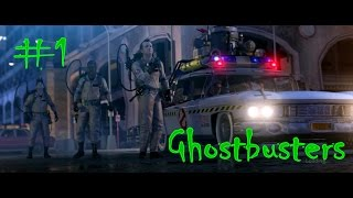 Ghostbusters: The Video Game(PS3) Part 1- SLIMER!!!