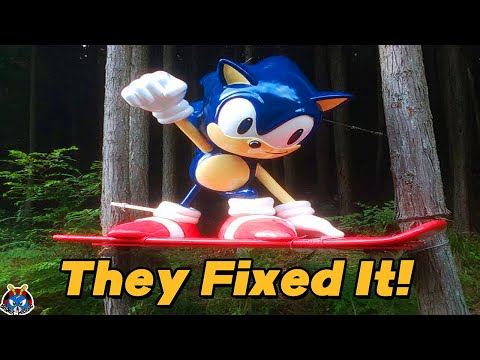The Sonic Statue Has Been Restored!