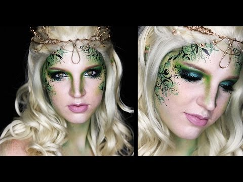 Dark fairy makeup new fairy face makeup halloween dark fairy.