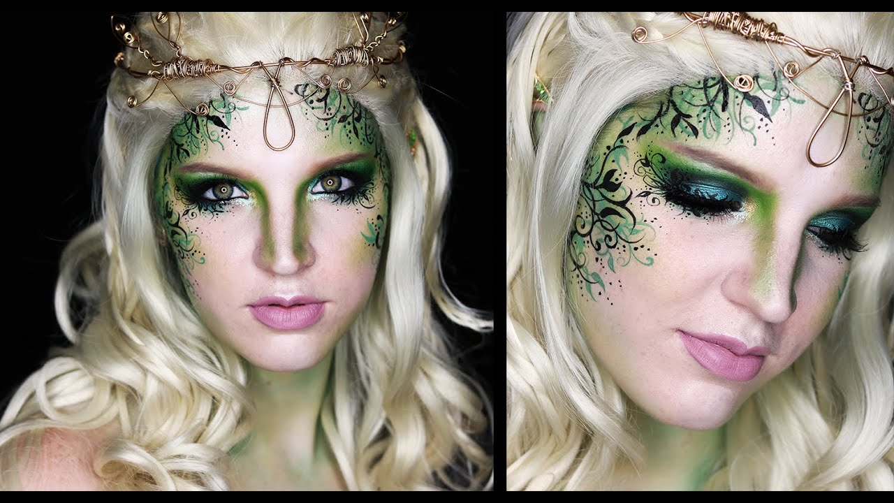 Forest fairy makeup tutorial youtube baditri Images