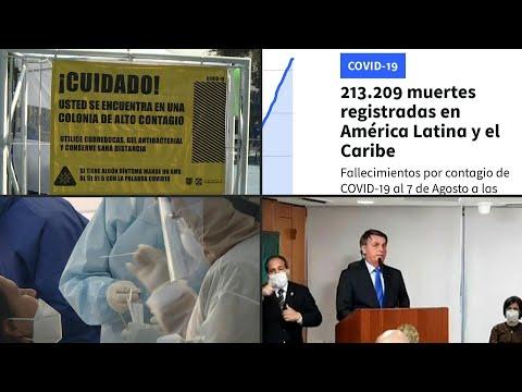 AFP Español: Latinoamérica supera a Europa en cifra de muertos por covid-19, que sigue avanzando   AFP