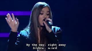 Hailee Steinfeld -  Love Myself & Starving Live - Lyrics Sub Thai - Eng แปลเพลงสากล ซับไทย อังกฤษ